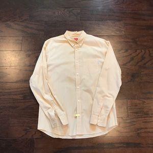 Supreme button up shirt size large